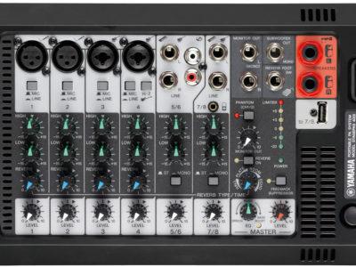 Regie Stagepass 400i Yamaha mixage