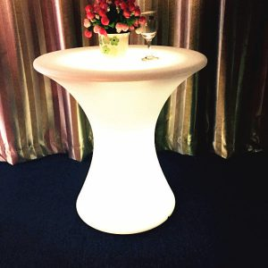 table basse lumineuse chic