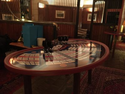 table des vins